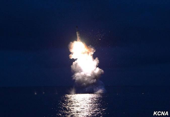 DPRK'da balistik füzelerle denizaltı yapımı. Japonya Denizi için Denizaltı