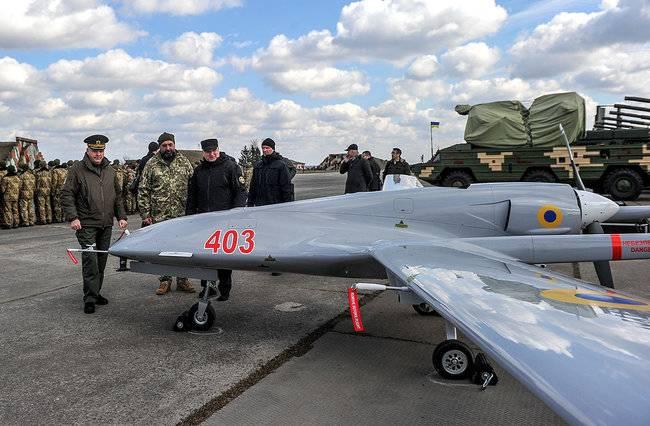 ウクライナ軍のトルコ無人機Bayraktar TB2