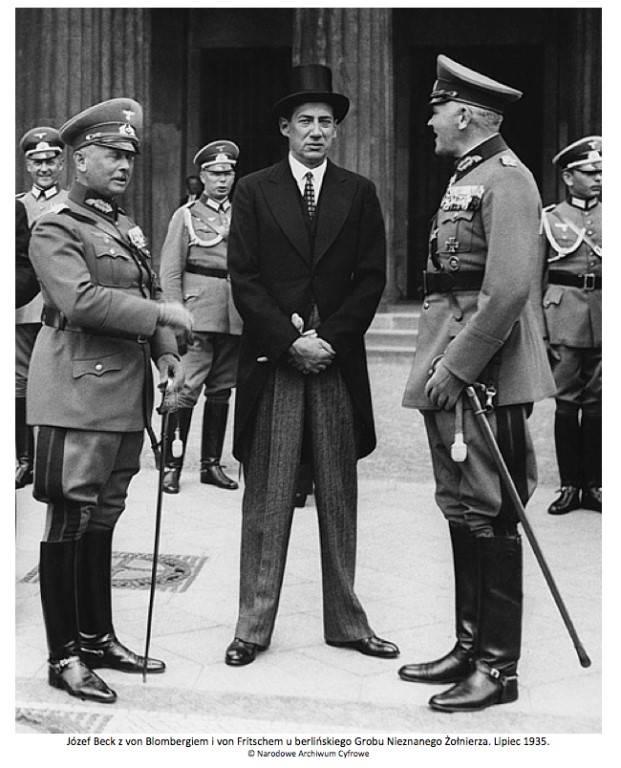 O começo da segunda guerra mundial. Alternativa em polonês
