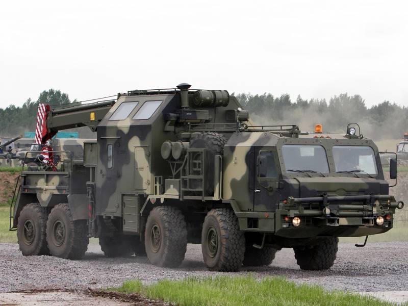 Ремонтно-эвакуационные полки в России. Формирование продолжается