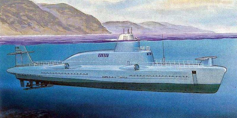 Погружающийся ракетный катер. Проект 1231 «Дельфин»
