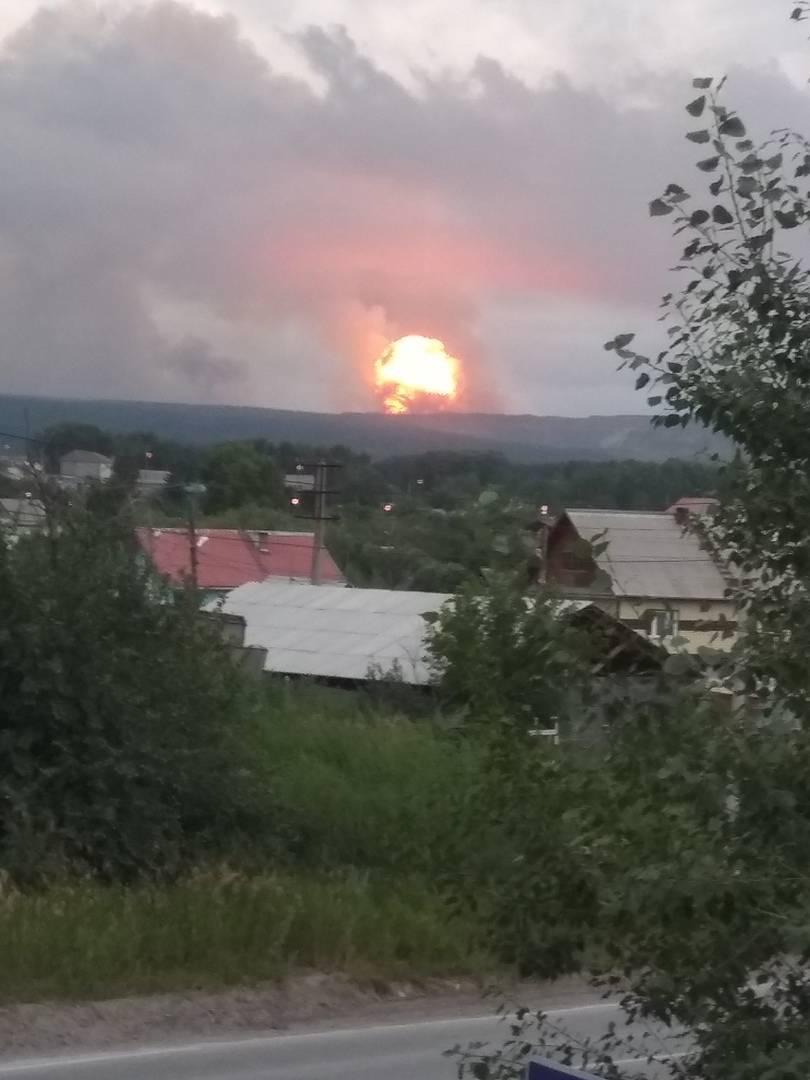 Взрывы на территории воинской части в Красноярском крае. Главное