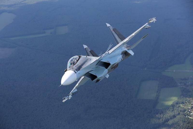 Les premiers combattants de Su-30СМ1 entreront dans l'armée au cours de l'année 2020