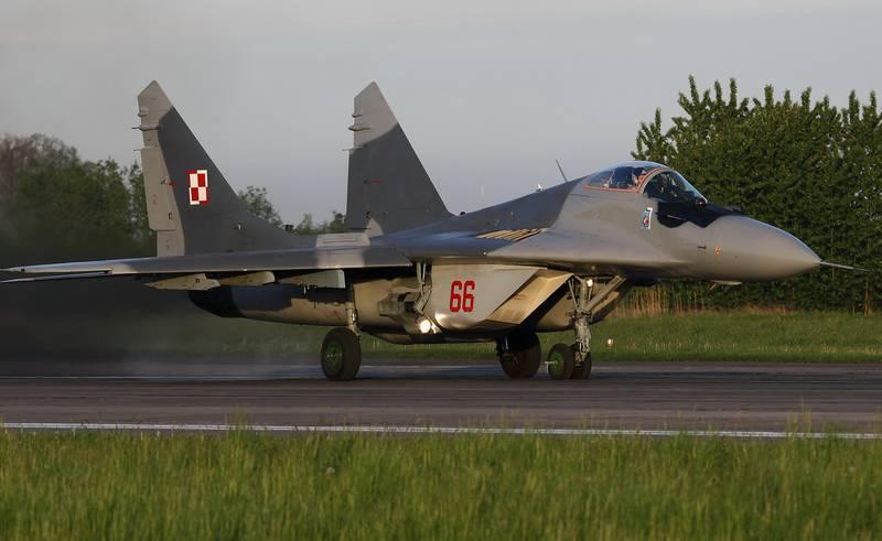 Força Aérea polonesa pode abandonar completamente o funcionamento do MiG-29