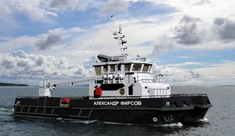 The second BGN of the 23370G project was laid down at the KAMPO shipyard in Orekhovo-Zuevo