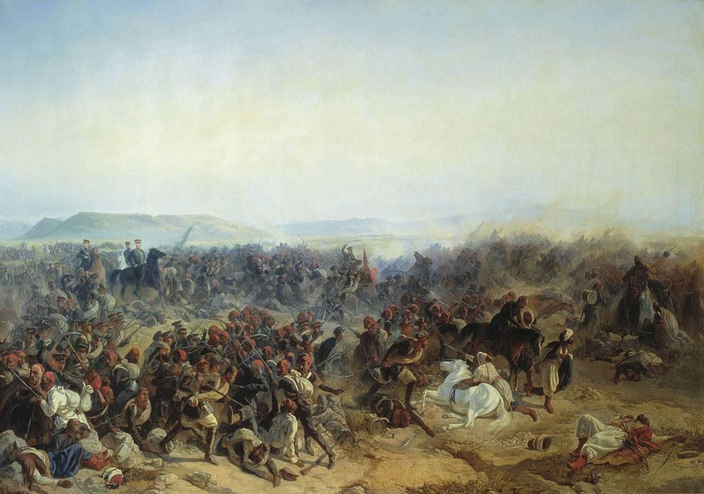 Разгром турецкой армии в битвах у реки Чолок и у Кюрюк-Дара