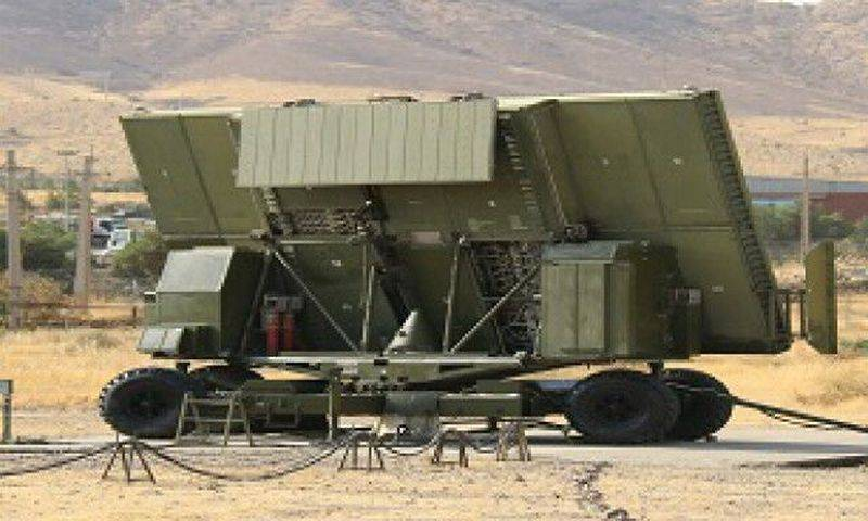 Iran showed a new domestic radar, created on the basis of the Russian