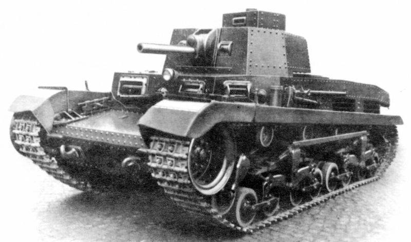 Hungarian tank Turan. Magyar attempt to catch up with Soviet tank