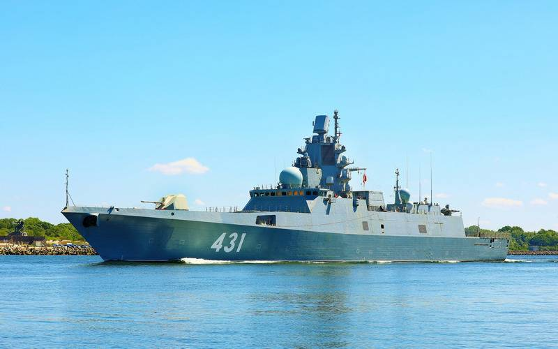 "Frigate ""Admiral of the Fleet Kasatonov"" will go on state tests in September"