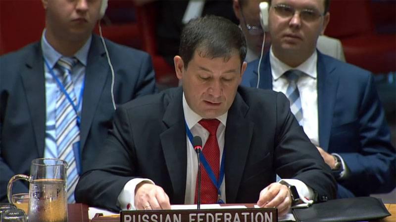 Russischer UN-Diplomat beantwortet britische Forderungen zu Krim und Syrien