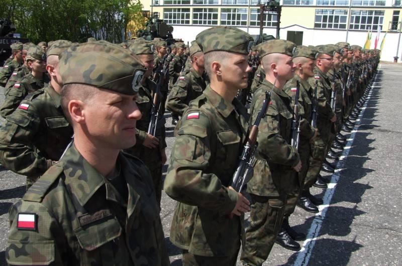 In Polen äußerten sie den Wunsch, die Streitkräfte des Landes zu verdoppeln