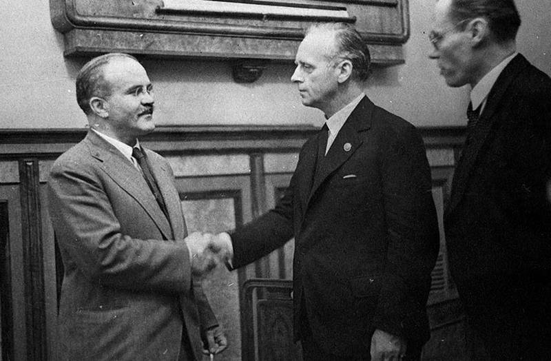 Moscow introduced the documents on the Molotov-Ribbentrop Pact
