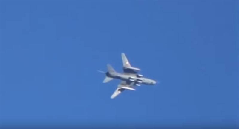 Berichtetes niedergeschlagenes Su-Xnumx in Syrien