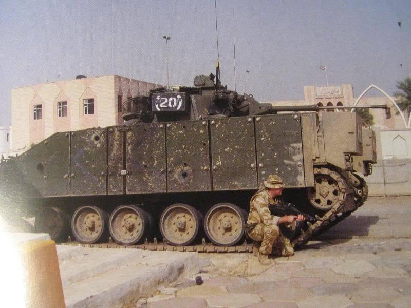 BMP Sa Majesté. Véhicule de combat d'infanterie guerrière