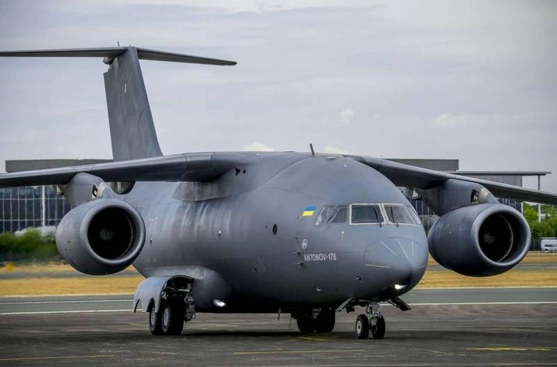 Em Kiev, anunciou a vitória do An-178 em um concurso para o fornecimento de aeronaves no Peru