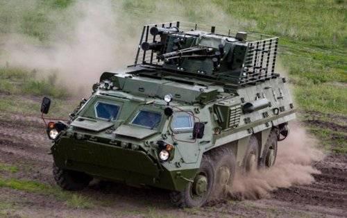 Установлены подробности по вопросу проблем с БТР-4 на Украине: броня не той системы