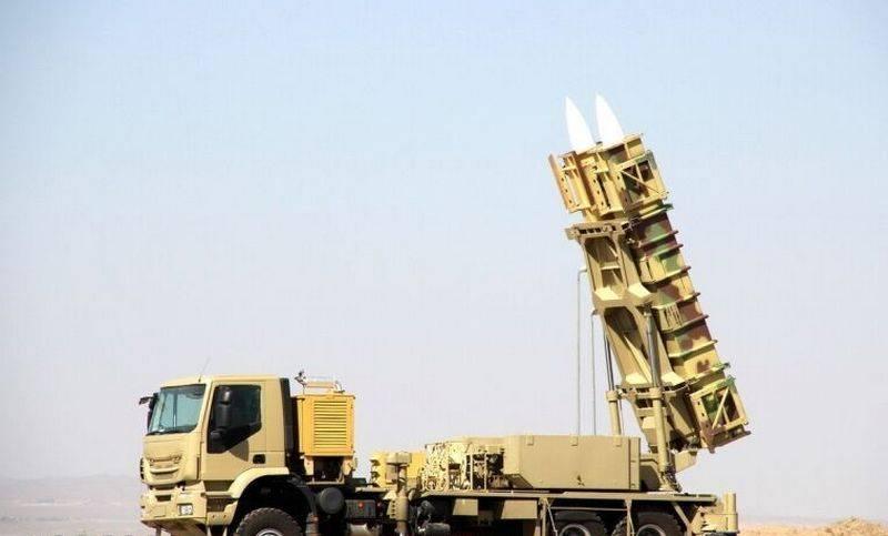 Teerã anunciou a conclusão do trabalho no sistema de defesa aérea Bavar-373