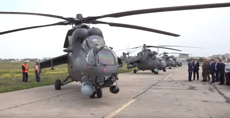 Le ministre serbe de la défense appelle les chars russes Mi-35M