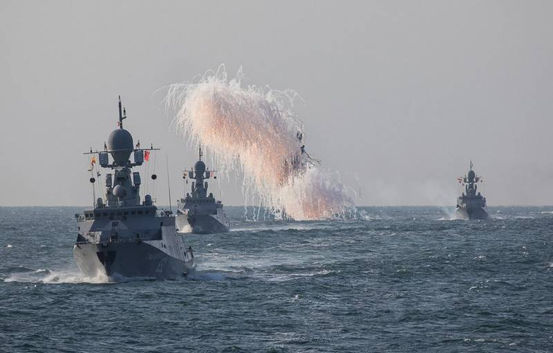 NI: the Russian Navy is rapidly becoming a regional Navy