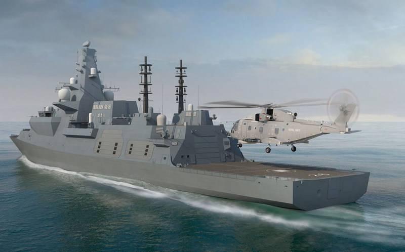 """En Grande-Bretagne, pose de la deuxième frégate """"Type 26"""" pour la Royal Navy"""
