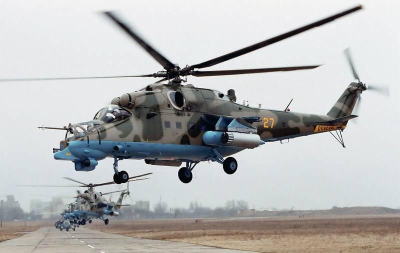 CVO आर्मी एविएशन ब्रिगेड ने दो Mi-24P हेलीकॉप्टरों के साथ फिर से भर दिया