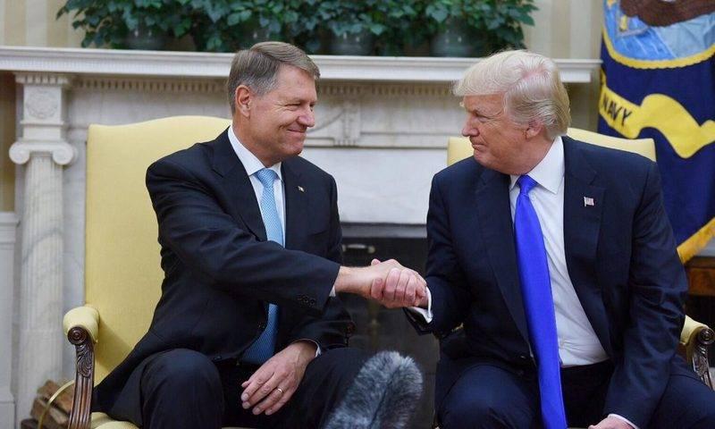 """США и Румыния договорились укрепить """"правый фланг НАТО"""", включая Чёрное море"""