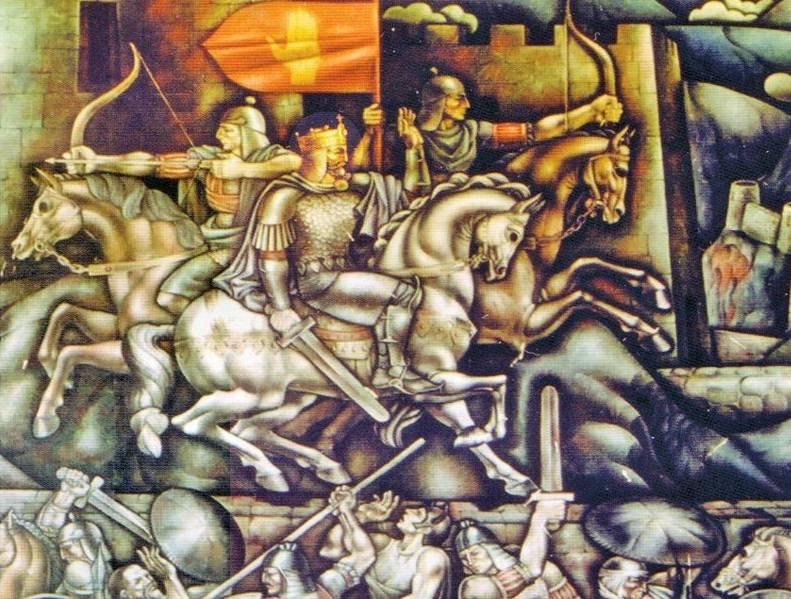 Anakopische Schlacht. Unter dem Deckmantel von Legenden und Mythen