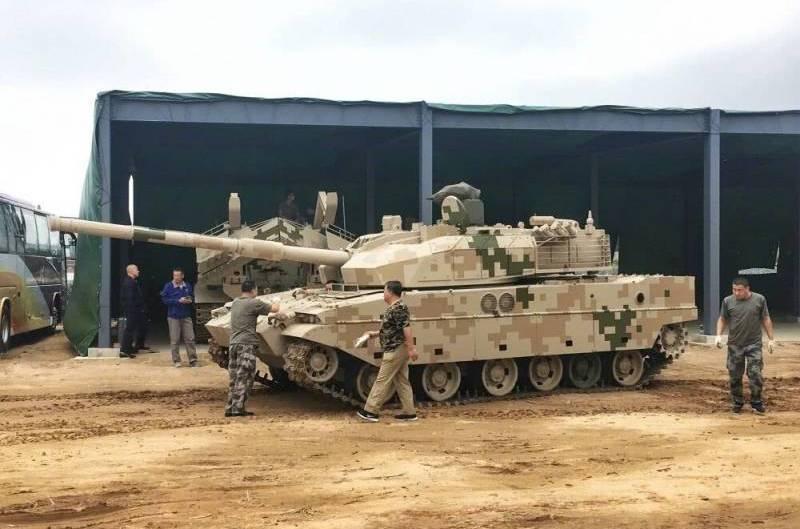"""Tanque chinês de """"exportação"""" VT5 receberá um sistema de proteção ativo"""