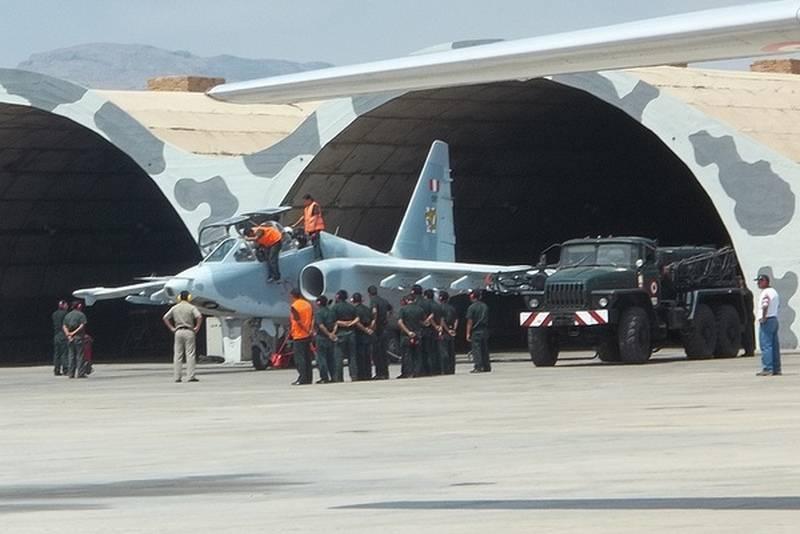 Força Aérea do Peru recebe terceiro avião de ataque Su-25 modernizado pela Rússia