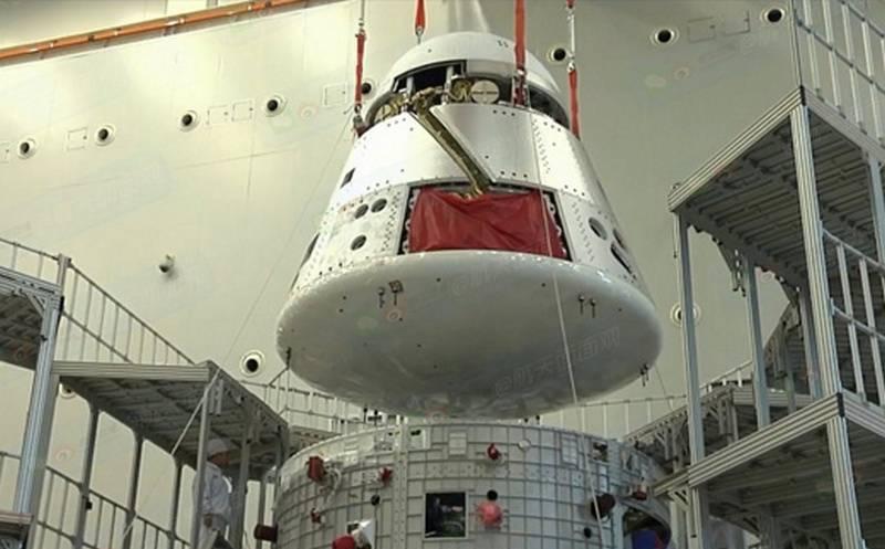 China completou a montagem de uma nova geração de naves espaciais