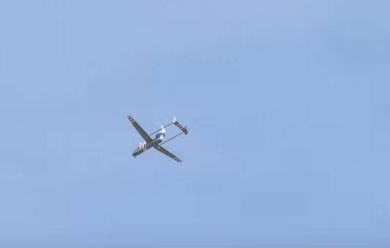 Испытательный полет БПЛА Форпост-Р