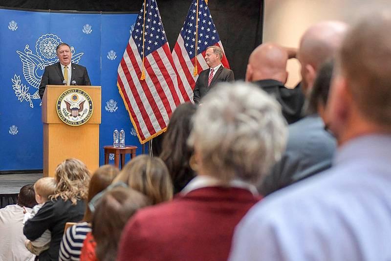 """Die USA kündigten das Datum des Inkrafttretens des zweiten Sanktionspakets """"auf der Skripaly"""" an"""