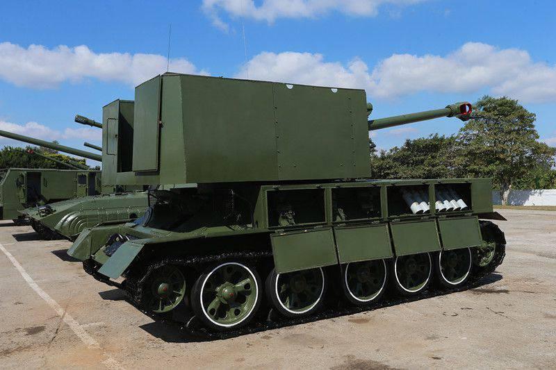 क्यूबा की सेना ने T-34 और T-55 टैंक को दूसरा जीवन दिया