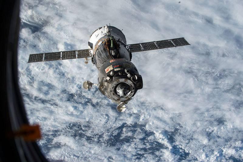 Das Raumschiff Sojus MS-14 konnte vom ersten Versuch an nicht an die ISS andocken
