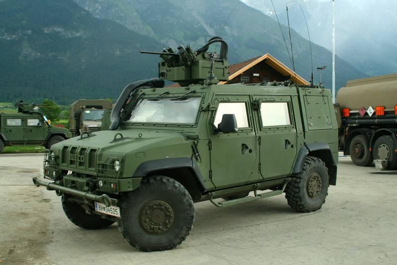 Die niederländische Armee wechselt von Mercedes SUV zu IVECO