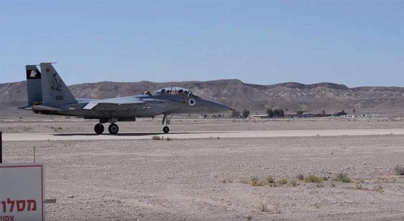Israeli air force struck on Lebanese territory