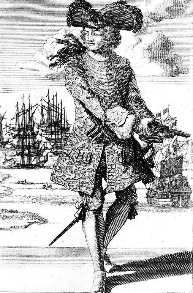 बार्थोलोम्यू रॉबर्ट्स, ब्लैक बार्ट। फाइलबस्टर्स के महान युग के अंतिम नायक