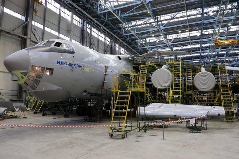 À Ulyanovsk a lancé une chaîne de montage automatisée IL-76MD-90A