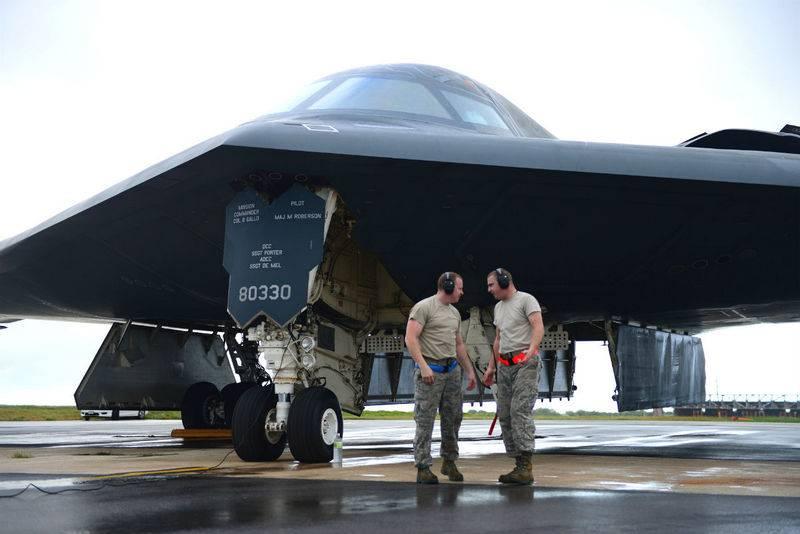 Estados Unidos desplegó dos bombarderos B-2 Spirit en Gran Bretaña
