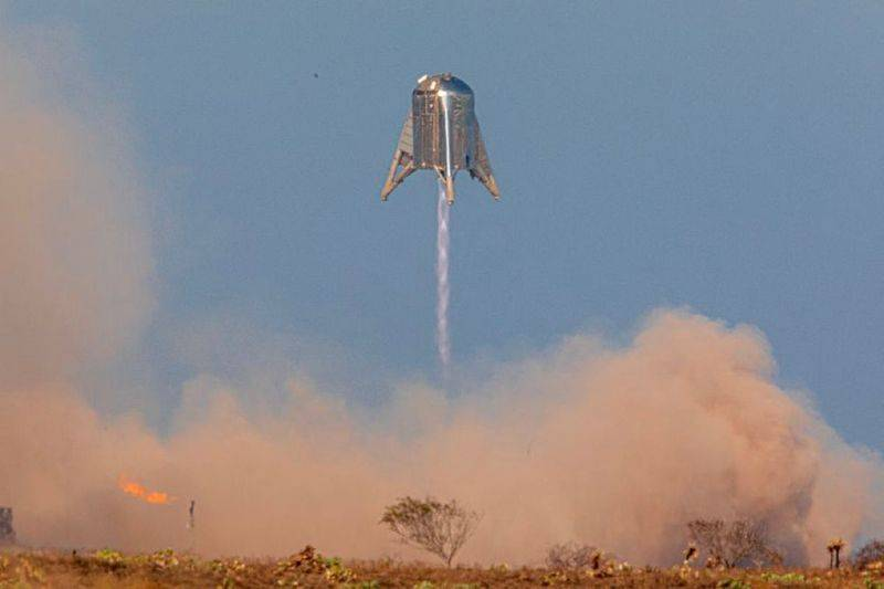 SpaceX's Starhopper Successfully Passes Phase 2 Test