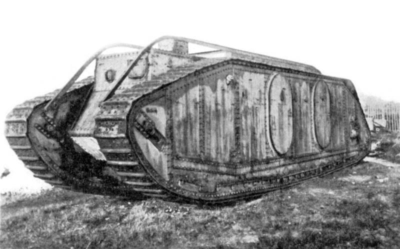 Первый бронетранспортёр в истории. Mark IX