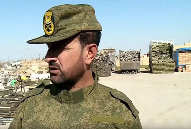 Syria: Division of General Suhail had not disbanded, but renamed