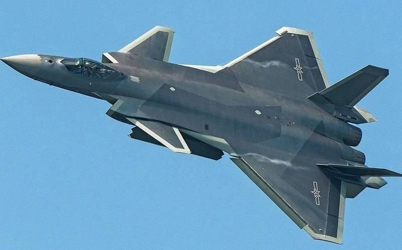 China pretende criar um novo caça J-20