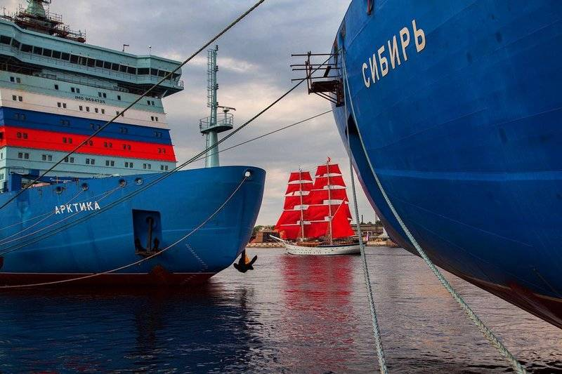 "In ""Rosatom"" called deadlines leading a nuclear-powered icebreaker ""Arctic"""