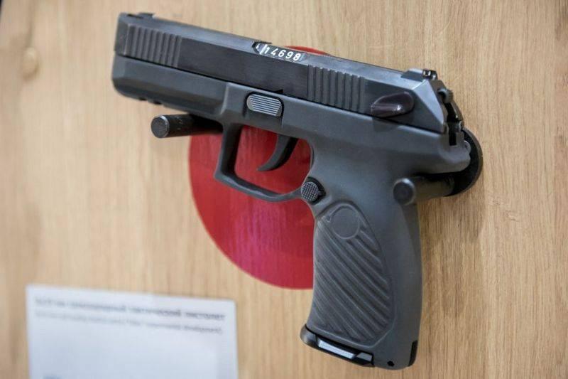 """9X19 """"Parabellum"""" kartuşu altındaki """"Boa"""" tabancası güvenlik güçleriyle ilgileniyor"""
