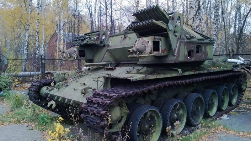 Установка разминирования УР-77 «Метеорит» и УР-88 «Объект 190»
