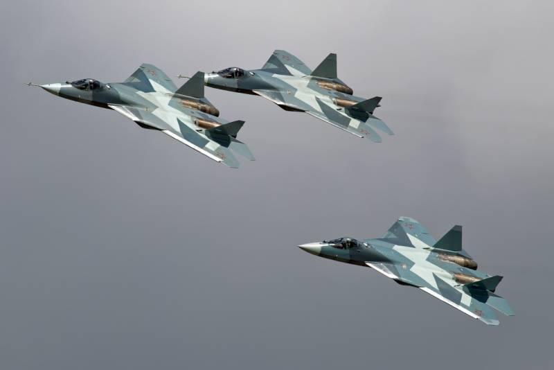 Экспортный Су-57Э накануне премьеры