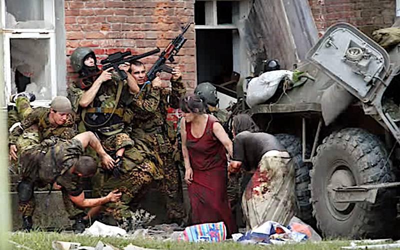 O comandante do esquadrão Alpha compartilhou suas memórias dos eventos de Beslan