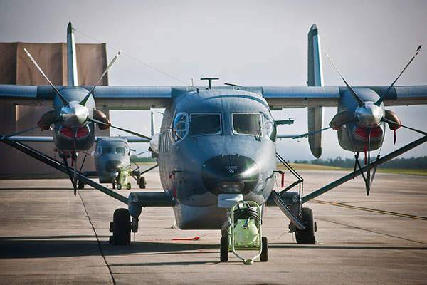 Light turboprop transport and passenger and reconnaissance aircraft of the special operations forces United States air force