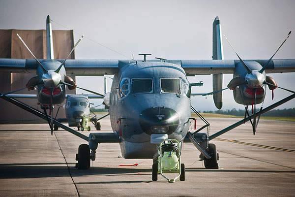 Лёгкие турбовинтовые транспортно-пассажирские и разведывательные самолёты сил специальных операций ВВС США
